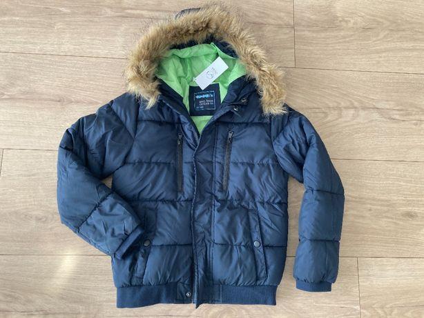 kurtka zimowa chłopięca nowa 140 cm z metką