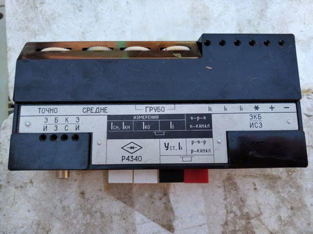 Приставка для определения параметров полупроводниковых приборов Р4340