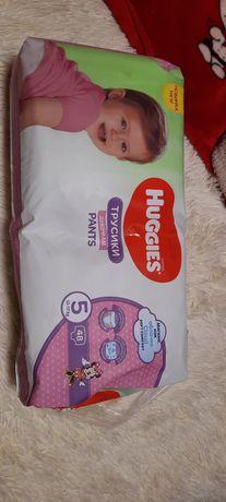 Huggies pants для девочек , размер 5