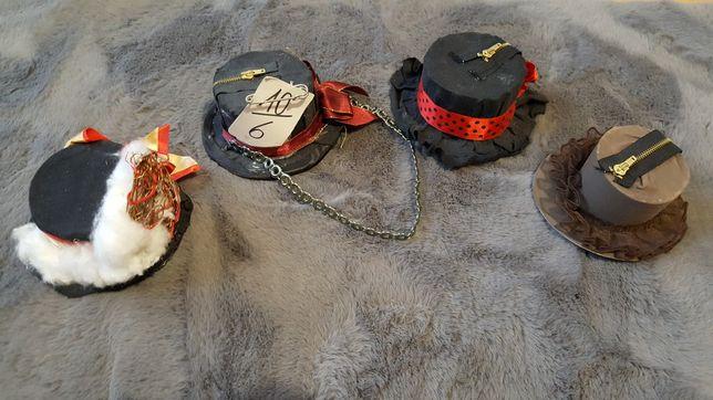 Kapelusze mini kapelusiki handmade cosplay Lolita