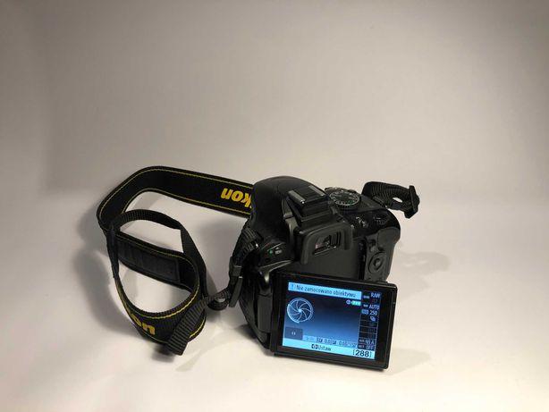 Nikon D5100 + obiektyw 18-105mm 3.5-5.6 (kitowy)