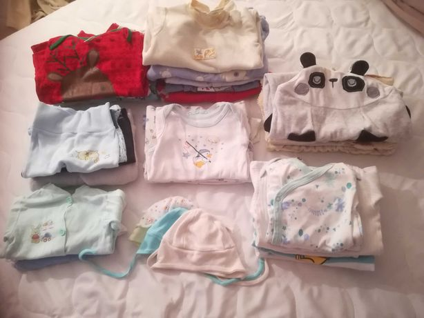 Ubranka niemowlęce dla chłopca 0-3 miesiące