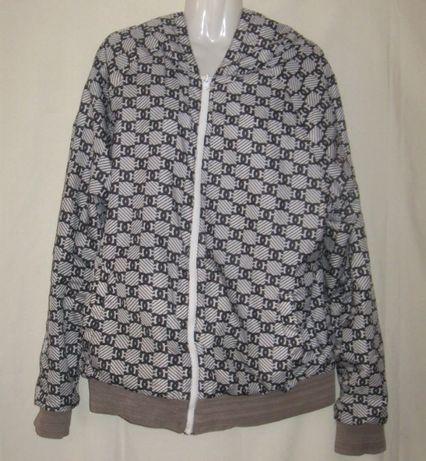 Куртка деми, мужская оригинальная, двухсторонняя. 48-50 размер,