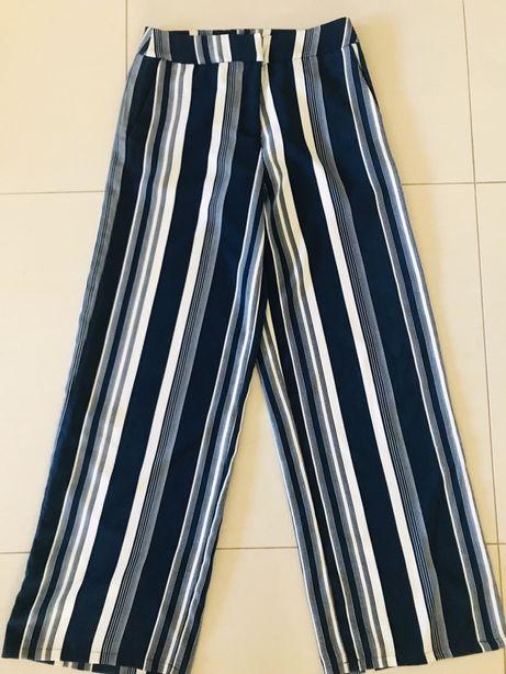 Szerokie spodnie  culotte marki vila rozmiar 36