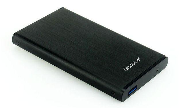 """HDD Usb 3.0 карман алюминий в чехле! для жесткого диска 2.5"""" винчестер"""