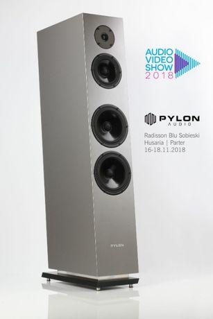 PYLON AUDIO DIAMOND 30 kolumny głośniki szary metalic