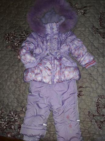 Продам зимний костюм на девочку