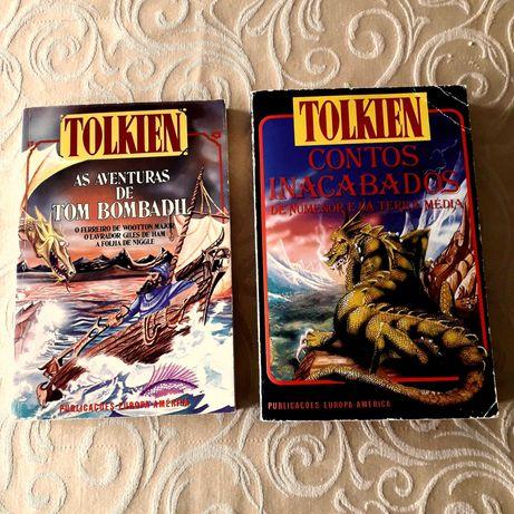 JRR Tolkien- Contos Inacabados / Aventuras Tom Bombadil  Anos 80