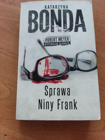 Książka Sprawa Niny Frank Katarzyna Bonda
