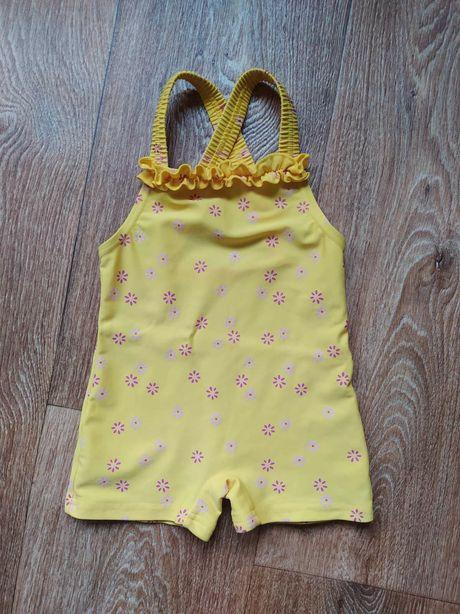1 год Девочки Купальник майка плавки закрытый купальник трусы панамка