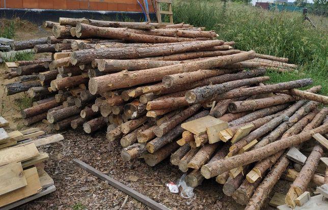 stemple budowlane drewniane (zostały już tylko krótsze niż 270)