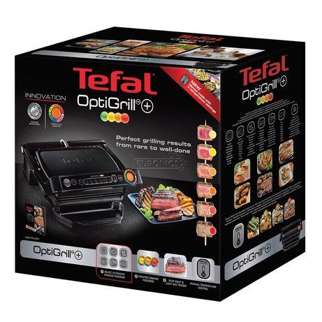 Гриль TEFAL GC 712834 / GC712812 / GC712D34 OptiGRILL+ в наявності!