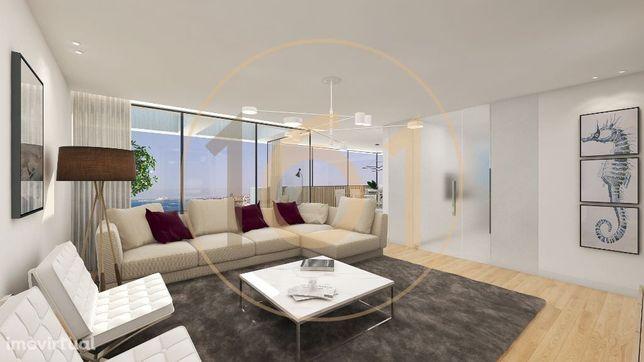 Apartamentos T3 com varanda em resort urbano na margem sul da Foz d...