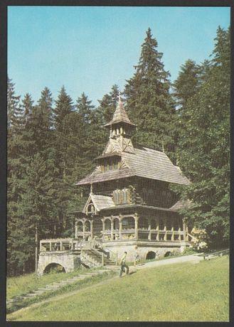 pocztówka - Zakopane 1972 - Jaszczurówka
