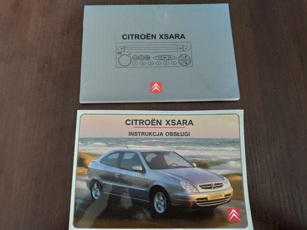 Instrukcja obsługi Citroen Xsara