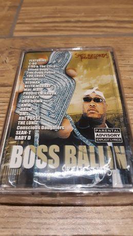 Boss Ballin' 3 kaseta magnetofonowa rap hip hop nowa folia