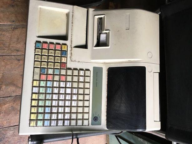 Caixa registadora com gaveta