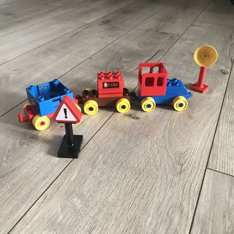 LEGO DUPLO поезд два набора оригинал