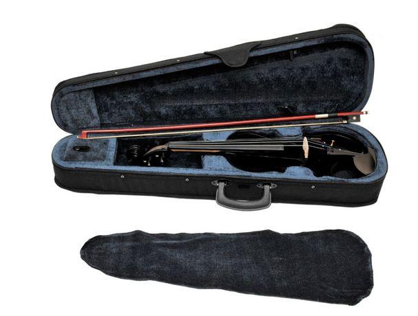 Skrzypce elektryczne 4/4 Prima PE-500 Czarny Metalic