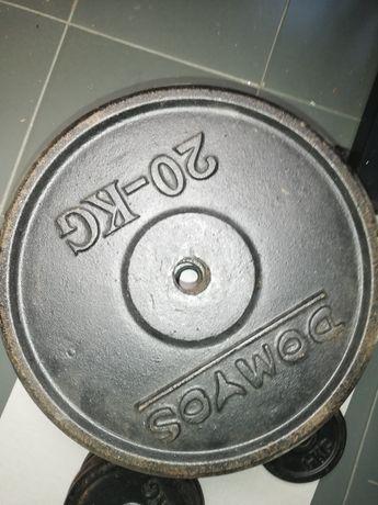 Pesos Domyos 2€ por kg