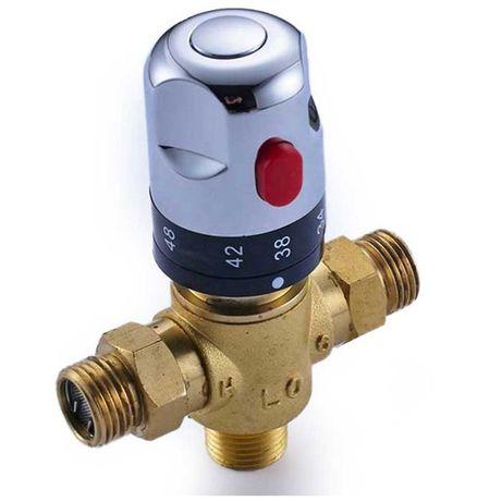 Смеситель с термостатической головкой для контроля температуры воды