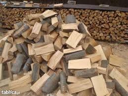 Układane, sezonowane, drewno kominkowe, liściaste!