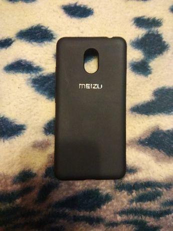 Чехол бампер Meizu M5c чёрный. Оригинал.