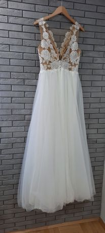 Suknia ślubna  w stanie idealnym