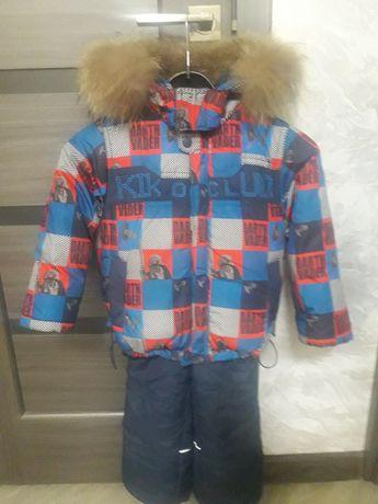 Продам зимний костюм KIKO р.86
