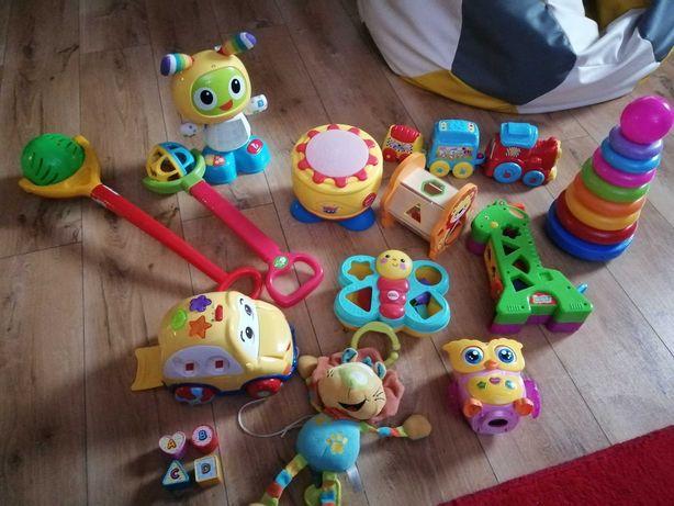 Zabawki sorter pchacz robot Bebo