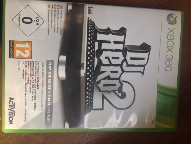 Gra DJ Hero 2 XBox 360
