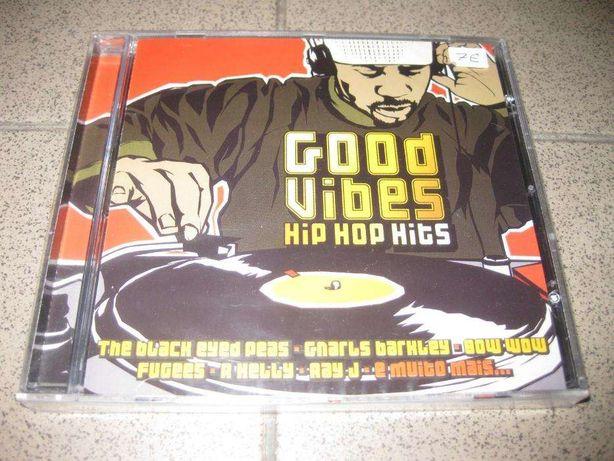 """CD """"Good Vibes-HIP HOP Hits"""" Selado/Portes Grátis"""