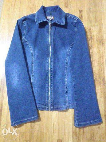Продам джинсовый пиджак Gloria jeans р.152, б.у