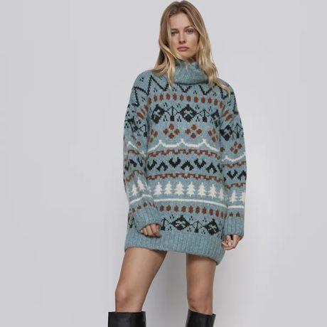 Кофта, светр-плаття Zara, додаткові фото і заміри надам