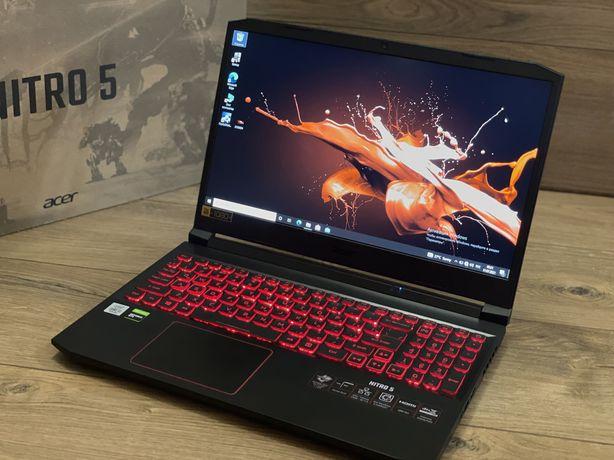 Acer nitro5 gtx 1650ti ddr6 ddr4-16 i5-10300h ssd 256