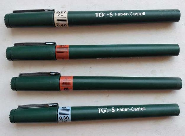 Canetas Faber Castell tipo Rotring