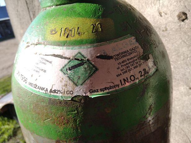 Butla gaz techniczny pełna mieszanka