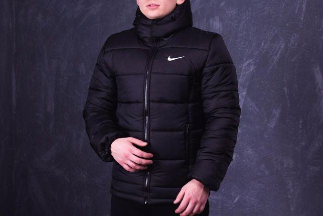 РАСПРОДАЖА! Куртка мужская зимняя Nike пуховик (чоловіча зимова куртка
