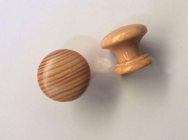 Puxador Madeira 35mm Pinho