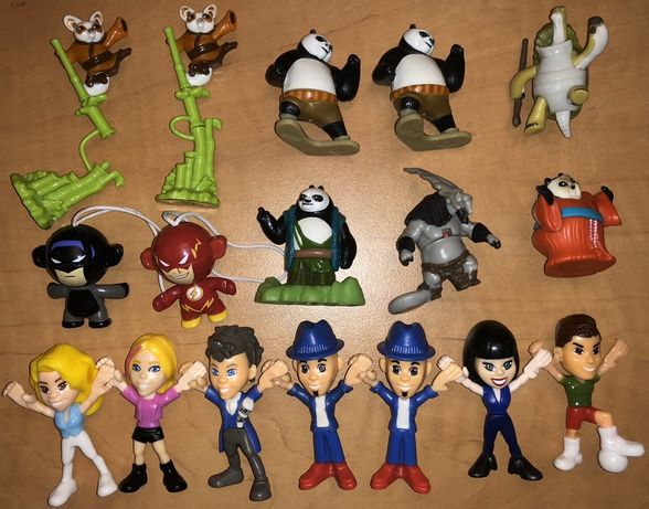 Kinder niespodzianka Teen Idols Kug Fu Panda Batman Kapitan Planeta