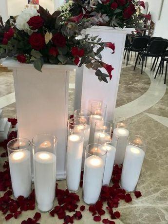 Аренда, прокат насыпных свечей Киев ДЕШЕВО! Свадьбу, презентацию