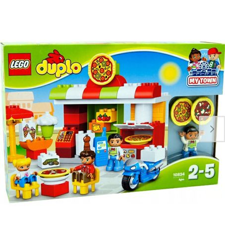 Klocki Lego duplo pizza