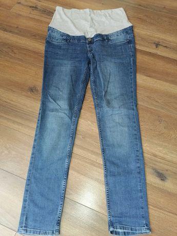 Spodnie jeansy ciążowe stan jak nowy