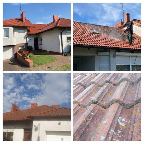 Mycie dachu, mycie elewacji, mycie malowanie dachów