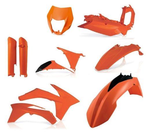 Pełny Zestaw plastików Acerbis KTM EXC EXCF od 2012 do 2013 Nowy