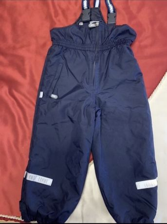 Полукомбинизон штаны lenne(ленне) зимний, размер 98+6
