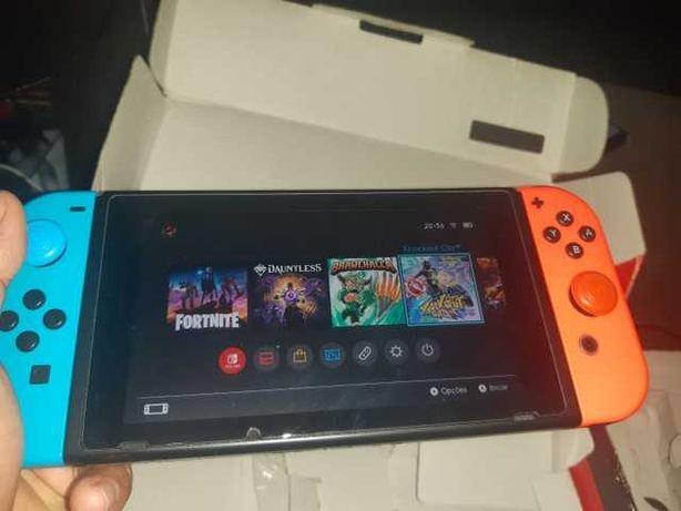 Nintendo Switch sem uso