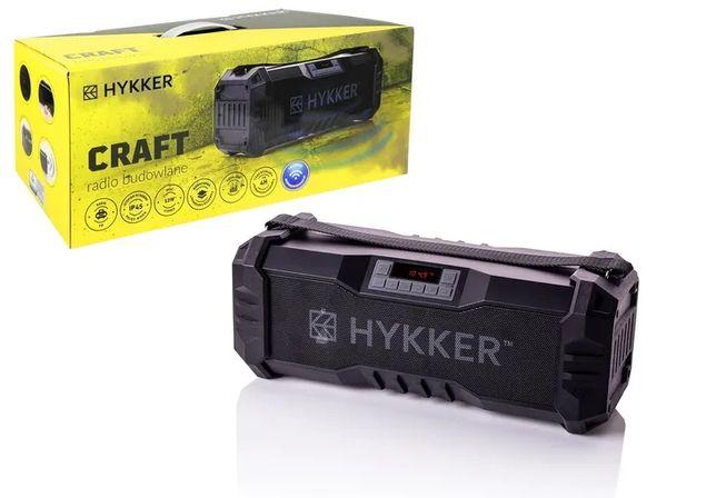 Radio budowlane HYKKER, radio bluetooth