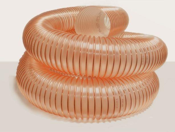 Wąż do dmuchawy do zboża gładki wewnątrz lekki elastyczny PUR fi 150