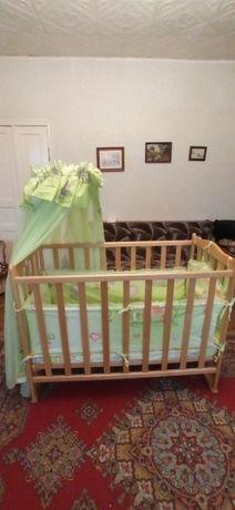 кроватка для новорожденных и до 3-х лет